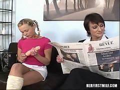 Hannah, Kathy - Her First MILF