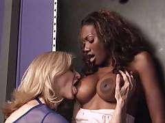 Naomi Banxxx gets her cunt licked by Veteran Pornstar Nina Hartley in these videos