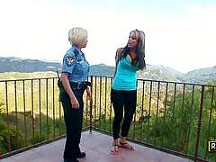 Samantha and Jenna Get Wet and Wild!. Whopper Lesbians