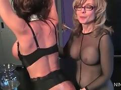 Nina Give Deauxma Pleasure Mixed With Pain 2