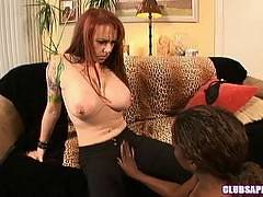 Alana Leigh and Randy James - club sapphic