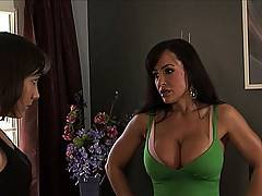 Lisa Ann and Hot College Lesbian Tearing Each Other s Clothes Off