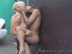 Lesbian Mechanics #01, Scene #4. Amber Rayne, Heidi Mayne