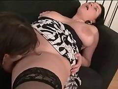 These girls are playing with huge sex tool
