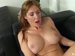 Her First Lesbian Sex. Angela James