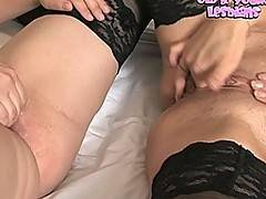 Pussy craving lesbians from all ages at play