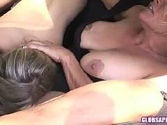 ClubSapphic - Debi Diamond and Nicole Ray Kiss and Make Up