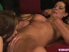 ClubSapphic - MILF Magdalene St Michaels Seduces College Brunette Ruby Red