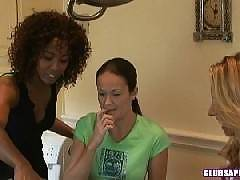 Lindsey Meadows And Misty Stone Have Some Make Up Sex.
