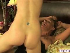Debi Diamond and Heidi Hanson in a MILF/College Lovemaking Scene