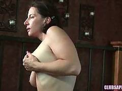 ClubSapphic - Tiffany Carter, Out of the Shower, Into Melissa Monet