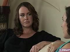College Brunettes Sinn Sage and Veronica Snow