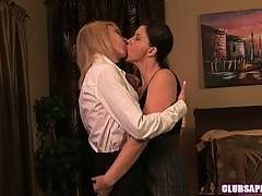 Brunette Sara Stone and MILF Erica Lauren